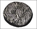 Zebra Bagel Bed