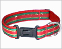 Holiday Stripes Collar Set